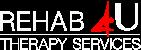rehab-4u logo white small